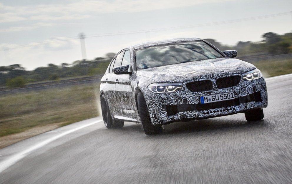 BMW M5: SVELATA LA SESTA GENERAZIONE