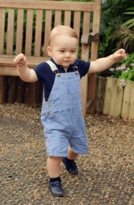 Moda: Il Principe George è un'icona di stile. In petit bateau