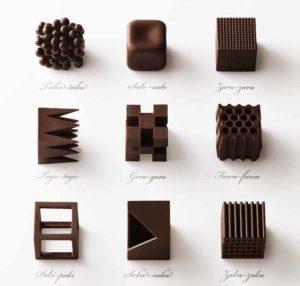 Mame Design: Nendo guadagna una personale al FuoriSalone. Chocolatexture, 2015