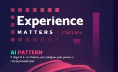 mame tecnologia AI PATTERN - EXPERIENCE MATTERS AL POLITECNICO locandina