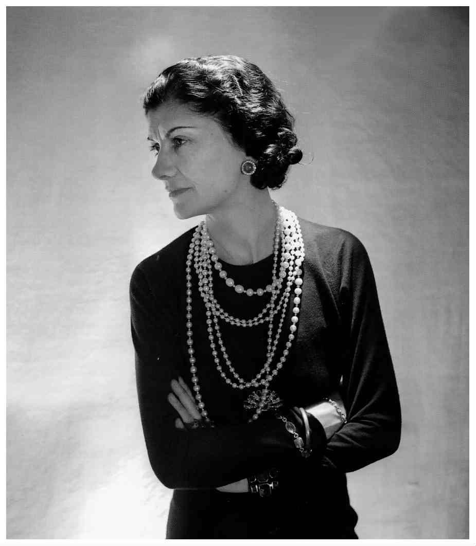 c5e288b8db Ritratto di Coco Chanel. Mame Moda alla scoperta del Dizionario .
