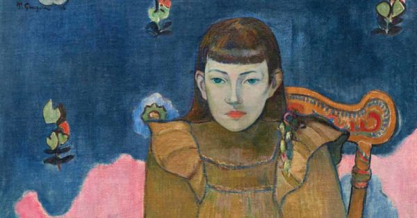 Mame arte Mame arte GAUGUIN E GLI IMPRESSIONISTI. LA COLLEZIONE ORDRUPGAARD giovane donna