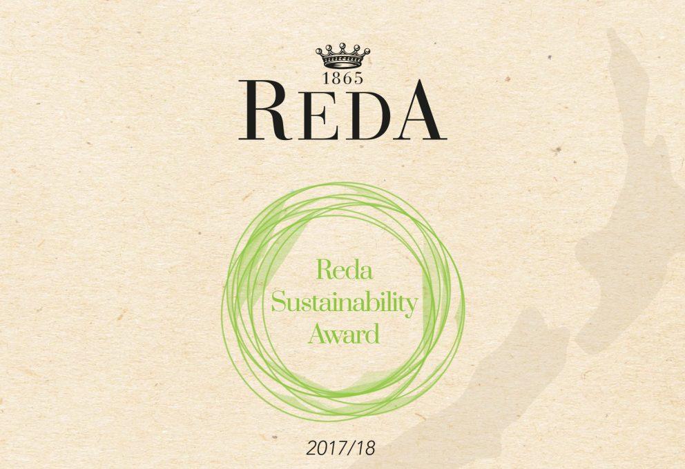 REDA SUSTAINABILITY AWARD PER MODA ECOLOGICA