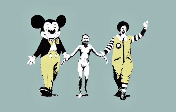 Mame arte A VISUAL PROTEST. THE ART OF BANKSY Napalm