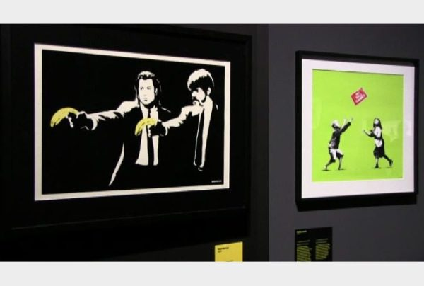 Mame arte A VISUAL PROTEST. THE ART OF BANKSY Pulp Fiction