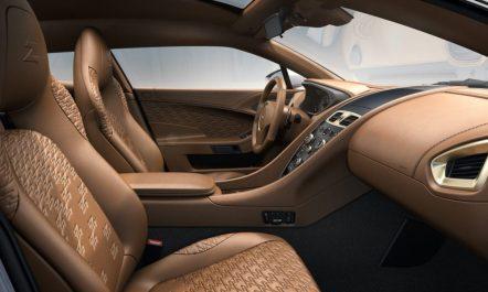Aston Martin Vanquish Zagato Shooting Brake interni