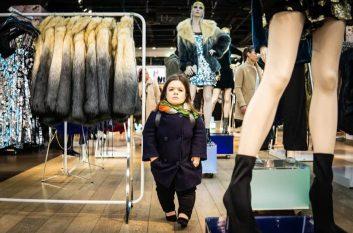 Sinead Burke veste Gucci al World Economic Forum