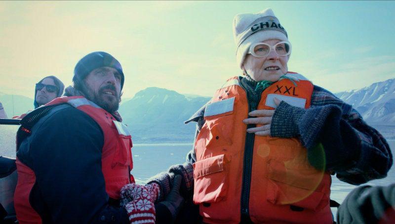 Al cinema la storia di Vivienne Westwood. Vivienne Westwood e il marito Andreas Kronthaler