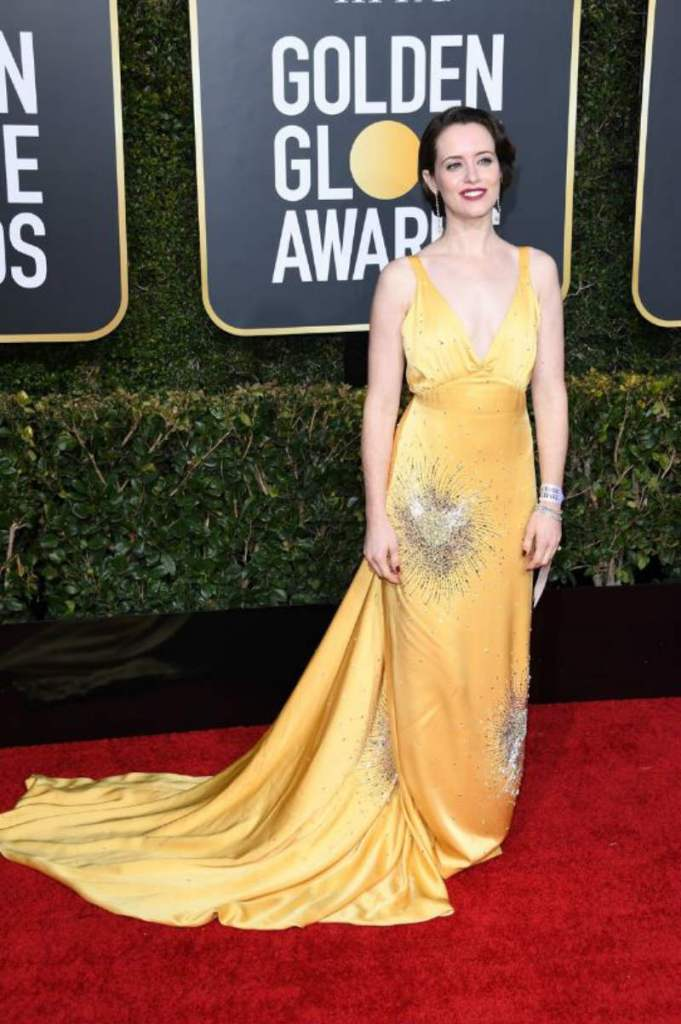 Golden Globe 2019, i look del red carpert. Claire Foy
