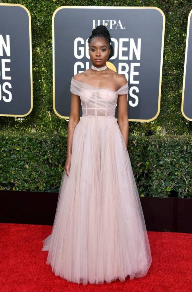 Golden Globe 2019, i look del red carpert. Kiki Layne