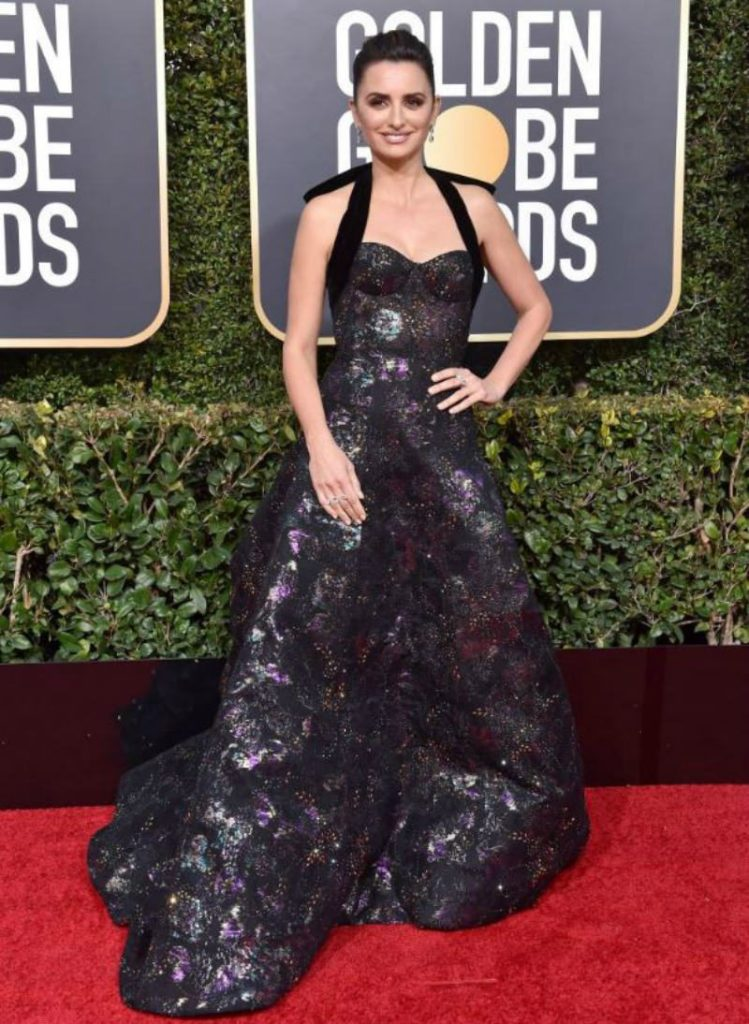 Golden Globe 2019, i look del red carpert. Penelope Cruz