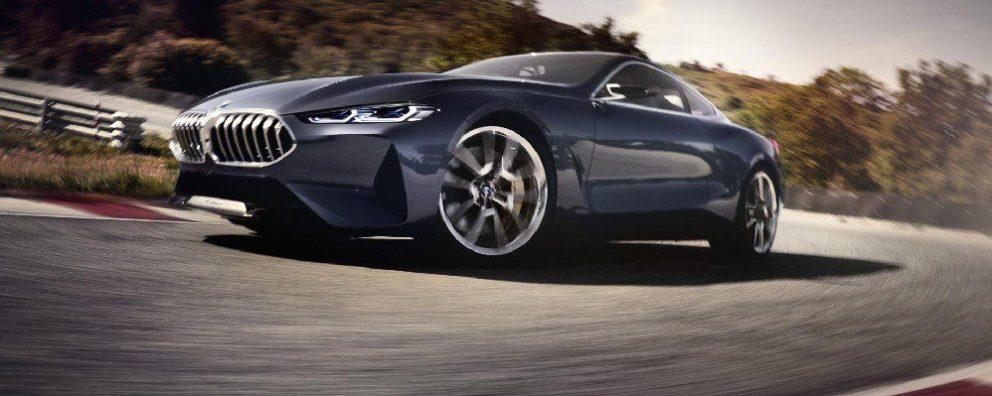 Nuova BMW Serie 8 530 CV e una guida di precisione