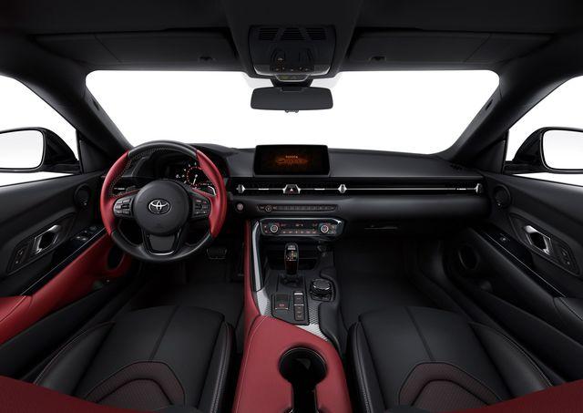 Toyota Supra 2019 - l'abitacolo
