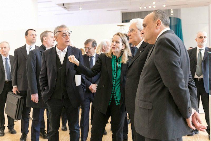 Boeri, Antonelli e Mattarella inaugurano la XXII Triennale di Milano