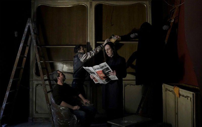 Manuel Agnelli ritratto da Andrea Nicotra a Germi, il suo nuovo spazio a Milano