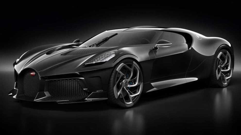 Bugatti La Voiture Noire 1600 cv e 11 milioni