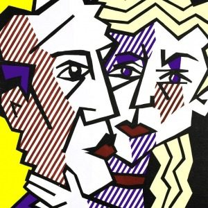 """Mame arte """"Roy Lichtenstein. Multiple Visions""""The Couple 1980"""