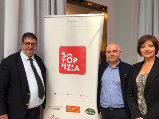 Mame food PRESENTATA LA TERZA EDIZIONE DI 50 TOP PIZZA Luciano Pignataro, Barbara Guerra e Albert Sapere