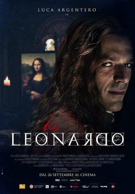 Io, Leonardo. Locandina del film