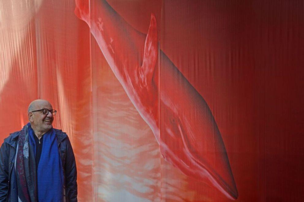 Mame arte ARTE E ORTO: UN BINOMIO PERFETTO A ORTICOLARIO 2019 A VILLA ERBA Le balene nel salone