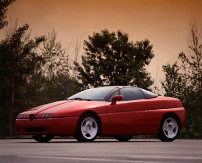 Prototipo modello proteo Alfa Romeo