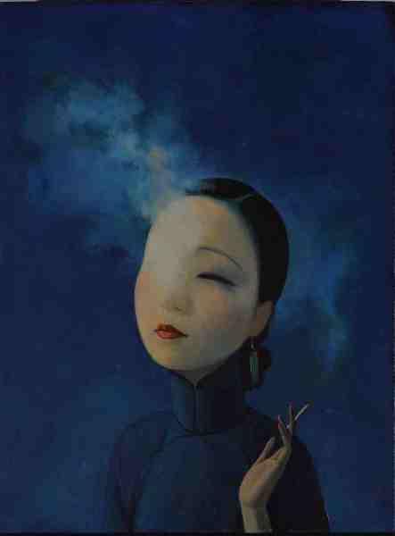 Le opere di Liu Ye raccontano atmosfere che evocano introspezione e purezza