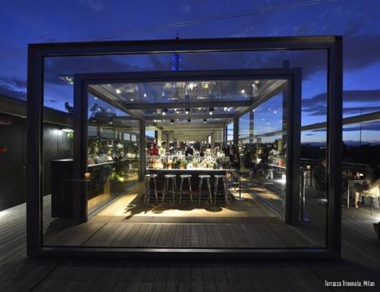 Terrazza Triennale: Qui i cocktail sono chiamato miscugli