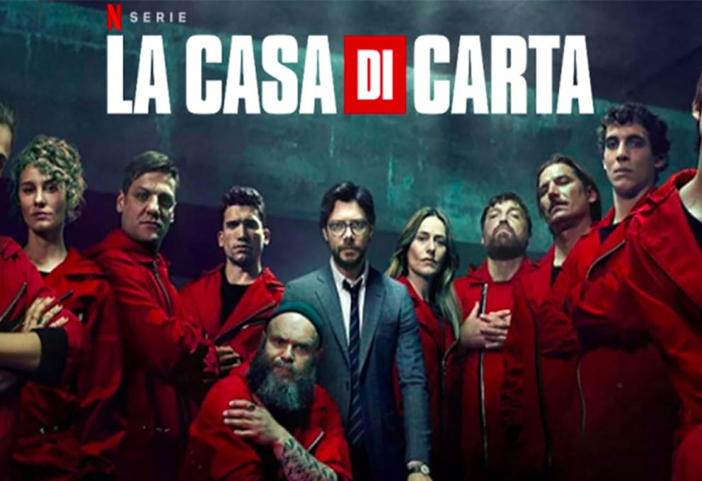 La casa di carta streaming netflix ita 2020