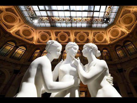TOUR-VIRTUALE-ALLE-GALLERIE-DITALIA-IN-ATTESA-DELLA-RIAPERTURA-DAL-2-GIUGNO Le sculture sono disposte in modo che il visitatore possa girarvi intorno e vedere l'opera nella sua interezza