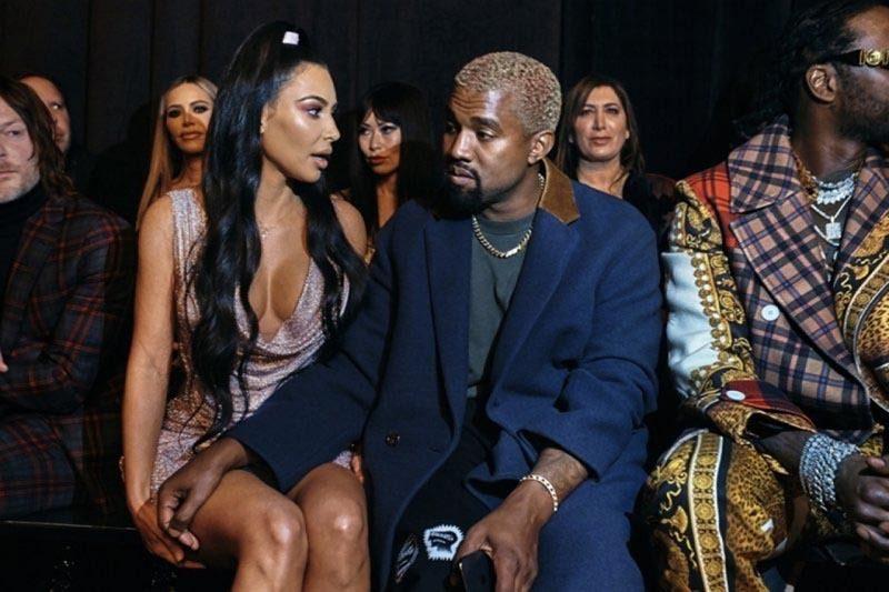 kanye West-Kim Kardashian