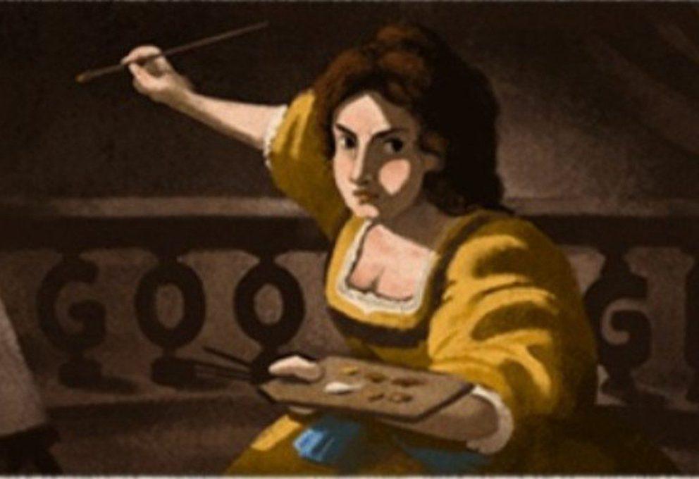Artemisia Gentileschi – il Doodle di Google