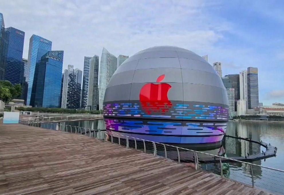 L'Apple Store di Singapore, 20 anni di storia