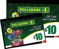Dollarama GC Giveaway