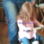 Indoor Tricycle Riding – #Wordless Wednesday