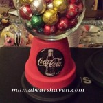 Clay Pot Gumball-Candy Jar DIY