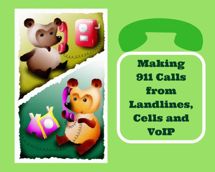 Making 911 Calls