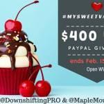 #MySweetValentine $400 USD PayPal Giveaway 2016