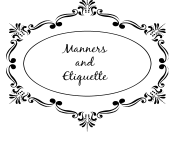 9 Manners