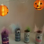 Toilet Paper Roll  Monsters – Halloween Craft for Kids