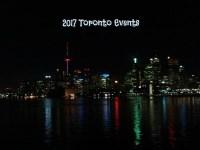 2017 Toronto Events