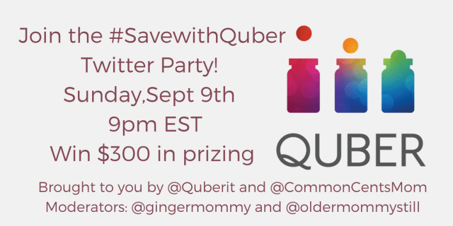 #SaveWithQuber