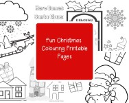 Christmas Colouring Printable