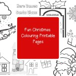 Fun Christmas Colouring Printable Pages