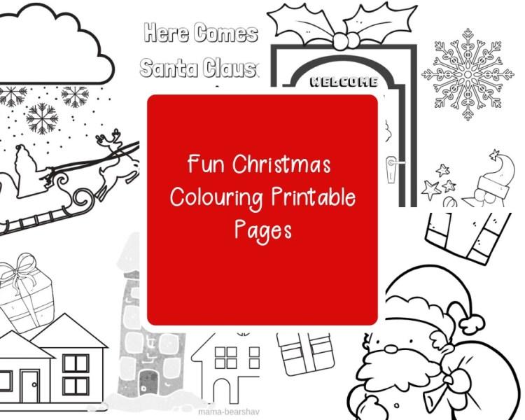 Christmas Colouring Printable