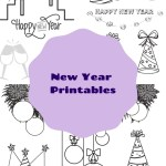 New Year Printables to Keep the Kids Busy