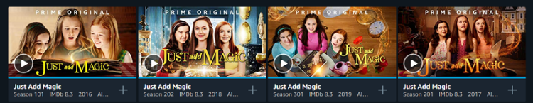 Just Add Magic on Prime Video