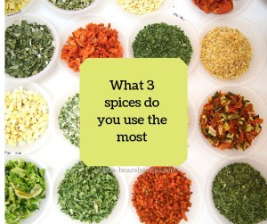 Creating your own seasoning combintions