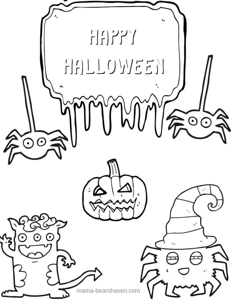 Ghosts and Goblins Halloween Printables