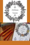 autumn Leaves Colouring Printable