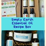 Simply Earth Essential Oil Recipe Box – October Box